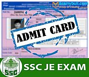 SSC JE Admit Card 2017-18, SSC Junior Engineer Tier-1 Hall Ticket Download