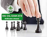 SSC CGL Exam 2016 Recruitment Notification Out