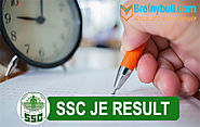 SSC JE Result 2018: SSC Junior Engineer Paper-1 Result, Cut Off Marks