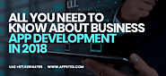 All you need to know about business app development in 2018 | Appsted Blog – Mobile App Design & Development Tips | i...