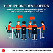 Points to consider to hire iPhone app developers for your business app | Appsted Blog – Mobile App Design & Developme...