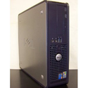 Dell GX620 SFF Desktop Computer, Powerful Intel 2.8GHz processor is included, LGA 775 CPU, Super Fast 2GB Interlaced ...