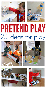 25 Easy Pretend Play Ideas