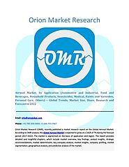 Aerosol Market Segmentation, Forecast, Market Analysis, Global Industry Size and Share to 2023 by Orion Market Resear...