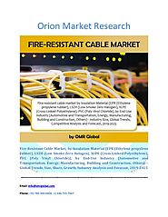 Fire Resistant Cable Market: Industry Growth, Market Size, Share and Forecast 2019-2025