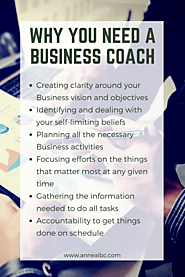 Why You Need A Business Coach