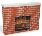 Where Buy Cardboard Fireplaces