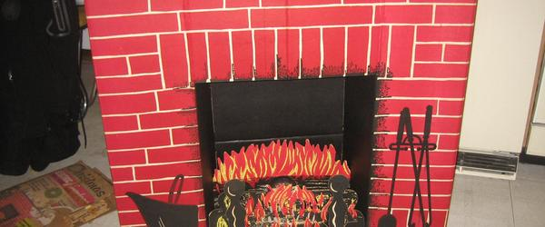 Headline for Where Buy Cardboard Fireplaces Click Here ==>