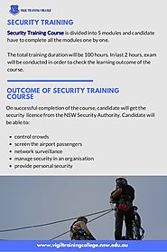 Security Training Course