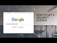 How To Get a Security Licence in NSW