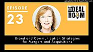 Brand and communication strategies for mergers and acquisitions