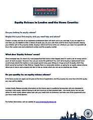 Equity Release in London and the home counties by Equity Release - Issuu