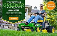 BHG & Deere Your Grass is Greener Sweepstakes Giveaway