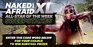 Naked and Afraid XL Giveaway Code Word (Discovery.com/win)