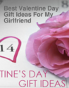 Best Valentine Day Gift Ideas For My Girlfriend