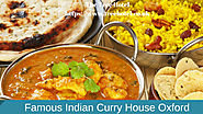 Famous Indian Curry House Oxford