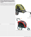 Best Dog Jogging Stroller Reviews and Ratings 2014 #dogrunningstroller #dogjoggingstroller