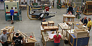 How does a woodworking educator find a woodworking business in search of employees?