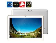10.1in 3G Android Tablet Quad Core OTG 2GB RAM Dual SIM HD IPS Display White | Mega Saver Shop