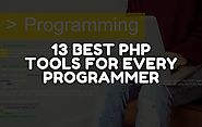 13 Best Php Tools For Every Programmer Or Software Developer