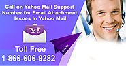 Call on Yahoo Mail Support Number for Email Attachment Issues in Yahoo Mail | Technical Support