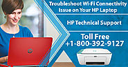 Troubleshoot Wi-Fi Connectivity Issue on Your HP Laptop via HP Support Number