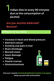 Alcohol Deaddiction in Gurgaon
