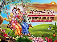 Hariyali Teez : The First Fasting Festival in Shravana Maas for a Husband's long life