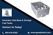 Generator Sub-Base Tanks Made of Aluminum and Stainless Steel
