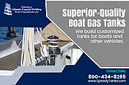 Custom Built Generator Tanks – Boat Gas Tanks