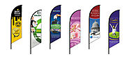 Custom or Standard Feather Flags - Sign Solutions Cayman
