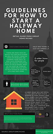 How to start a Halfway Home | Group Home Riches
