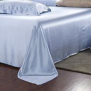 Buy 19 Momme Silk Flat Sheet Online