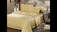 19, 22, 25, 30 Momme Silk Bedding: Silk Sheets, Silk Pillowcases