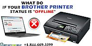 Step by step instructions to Change Brother Printer Offline to Online