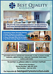 Professional Water Damage Removal Service