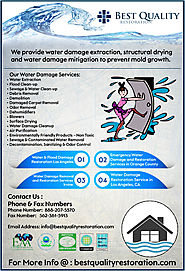 Water Damage Removal and Restoration Services Irvine