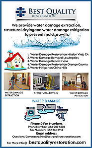 Water Damage Repair Irvine