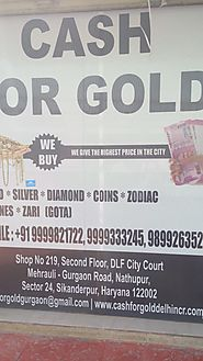 Gold Buyer in Gurgaon | CASH FOR GOLD