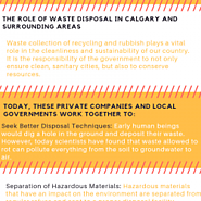 WHY IS WASTE MANAGEMENT IMPORTANT FOR THE ENVIRONMENT?