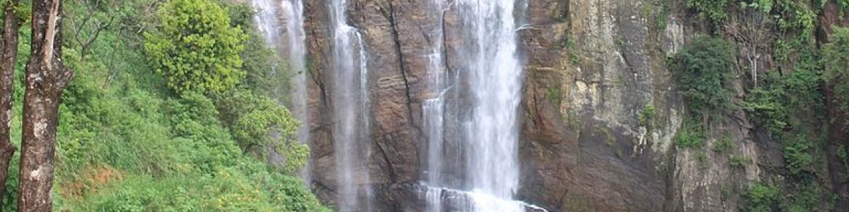 Headline for Top waterfalls in Sri Lanka – The Country with the most number of waterfalls