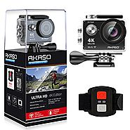 AKASO EK7000 4K WIFI Sports Action Camera Ultra HD Waterproof DV Camcorder 12MP 170 Degree Wide Angle | Action Camera...