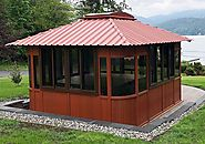 Gazebo Over Hot Tub