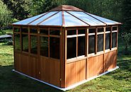 Glass Gazebo for Sale