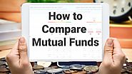 How to Compare Mutual Funds using Moneyworks4me