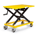 RELIUS SOLUTIONS Mechanical Mobile Scissor Lift Table