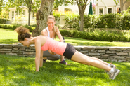 Take up Personal Training sessions in the Park