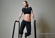 Check out Bodyrock for home workouts with minimum equipment