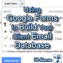 Google Drive - Using Google Forms - List Building Secrets