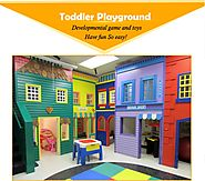 Avail High-Quality Safe and Secure Indoor Playing Equipment